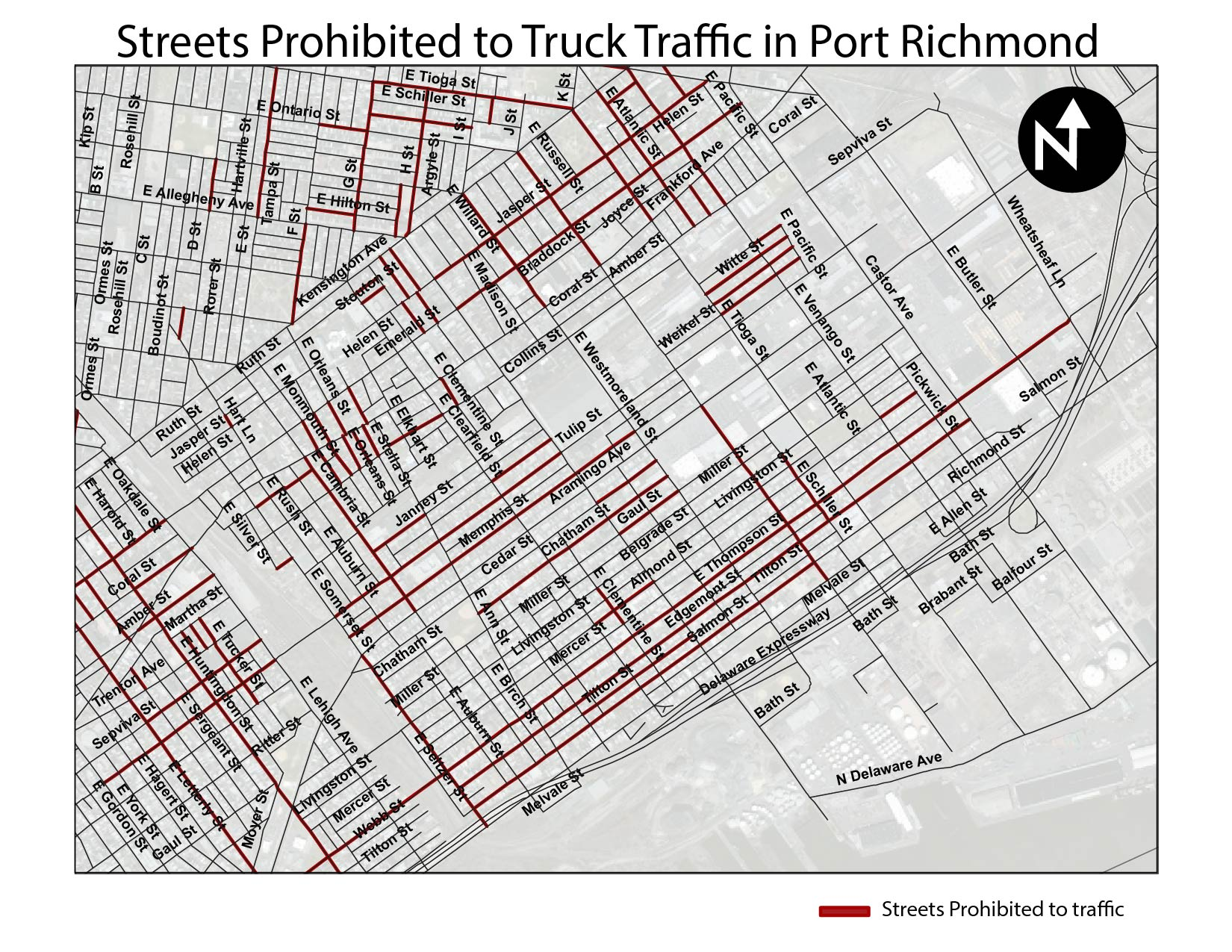Richmond Traffic Map.Infrastructure Portrichmondair